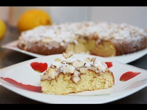 recette du d 233 licieux g 226 teau italien citron amandes youtube