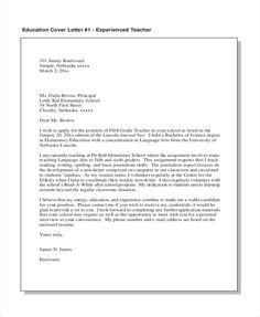 Cover Letter Exles College Students No Experience by Sles Of Education Cover Letters For Resumes Resumes
