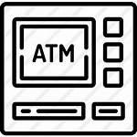 Atm Icon Machine Icons Premium Lineal Svg