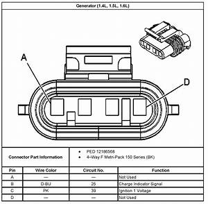 1997 Chevrolet Blazer Alternator Wiring Diagram