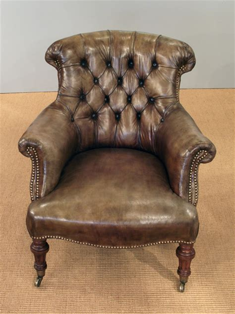 antique leather armchair victorian armchair victorian