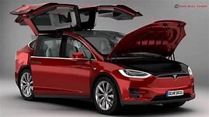 Tesla Modele X : tesla model x 2017 3d model ~ Melissatoandfro.com Idées de Décoration