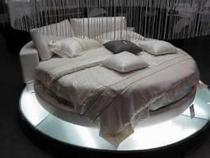 Lit Rond But : lit rond chambre adulte queshua lit rond matelas ~ Teatrodelosmanantiales.com Idées de Décoration
