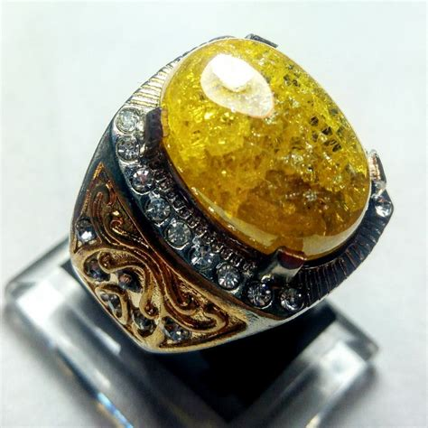 Batu Merah Pecah 1000 jual cincin batu akik pecah seribu gold hq di lapak
