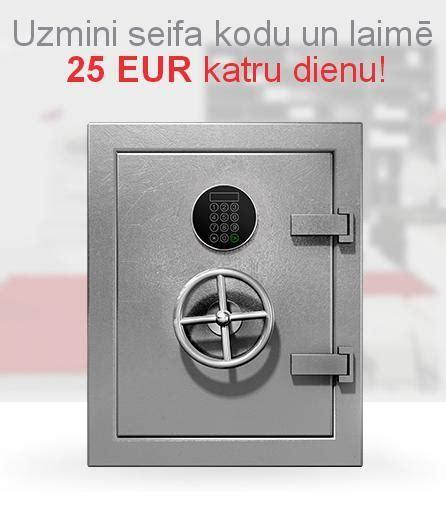 Akcija - Uzmini seifa kodu! - ViaSms.lv