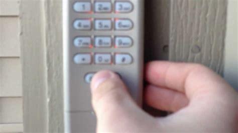 how to change a garage code hd liftmaster garage door opener keypad program