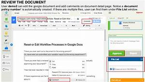publish news article with document classifications and With google documents workflow