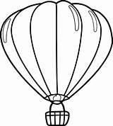 Balloon Coloring Air Drawing Sheet Template Balloons Printable Getdrawings Clipartmag sketch template