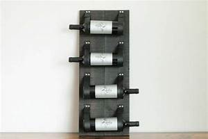 Support Bouteille Mural : marcus porte bouteille ebw d corations recycl es qu bec ~ Carolinahurricanesstore.com Idées de Décoration