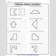 Reflection, Translation, And Rotation Worksheets