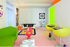 Pop Art Design Geometric Floor Patterns Interior Design Best House Design Ideas