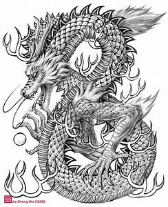 Chinese Dragon Head Tattoo Flashviewing Gallery For ...