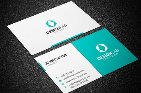 card templates simple clean business card business card templates