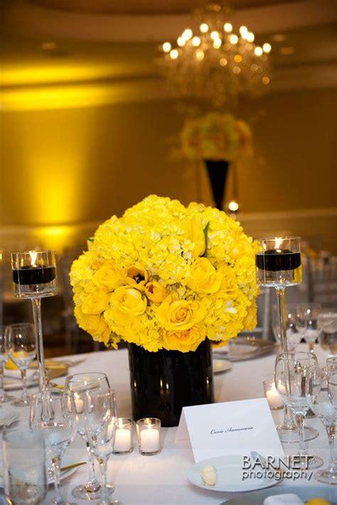 real wedding yellow wedding flowers wedding reception
