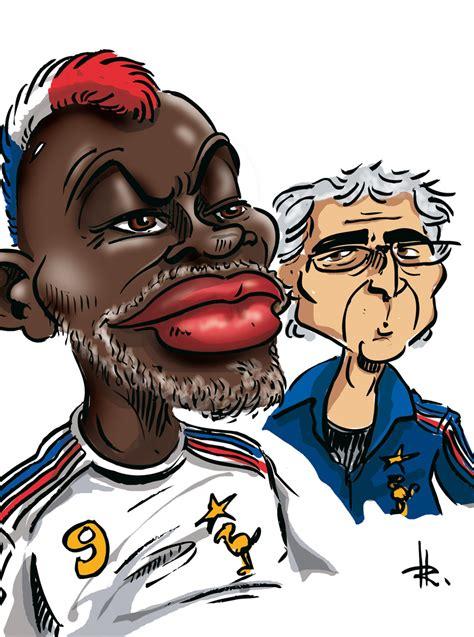 roux en cuisine caricature des sportifs français caricature cissé coupe du