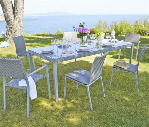 carrefour chaise beautiful table de jardin avec rallonge carrefour gallery
