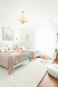 Kinderzimmer Für Zwei Mädchen : m dchen kinderzimmer 33 zeitgen ssische zauberhafte innendesigns f r m dchen ~ Sanjose-hotels-ca.com Haus und Dekorationen
