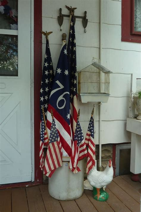 25 Best Flag Decor Ideas On Pinterest Rustic Americana