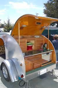Teardrop Trailer Kitchen Camper