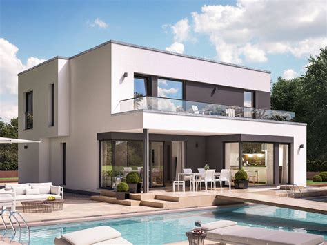 Moderne Häuser Balkon by Fantastic 163 V7 Designerhaus Bien Zenker