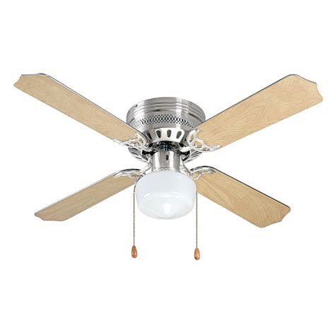 brightstar 4 blade ceiling fan with light brights