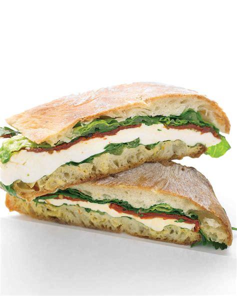lunch sandwiches vegetarian lunch sandwich recipes martha stewart