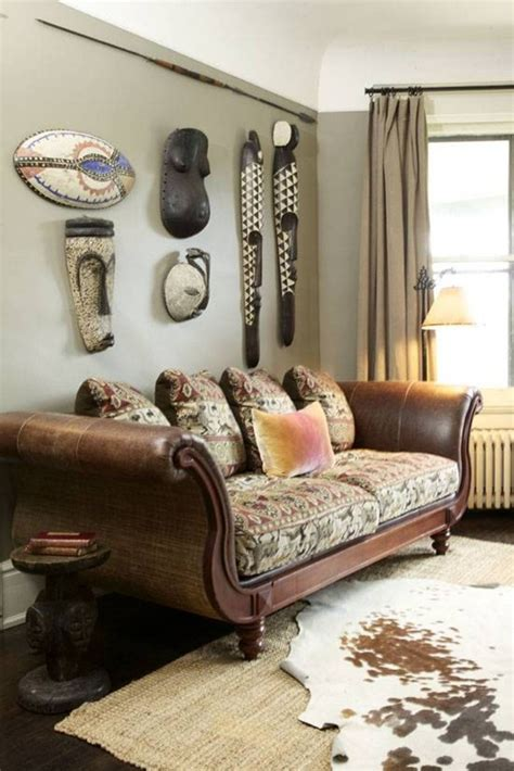 inspiring african living room decorating ideas