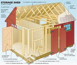 16x16 shed plans free my shed plans decision garden With 16x16 shed plans