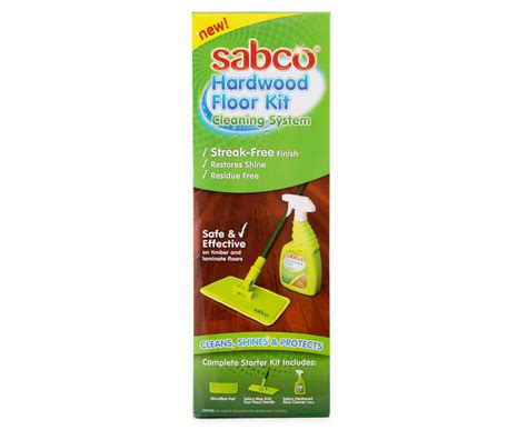 Sabco Hardwood Floor Kit Cleaning Composite Kitchen Sinks Undermount How To Clean Your Sink Contemporary Porcelain Farmhouse Quartz Coc Stainless Steel Stopped Up
