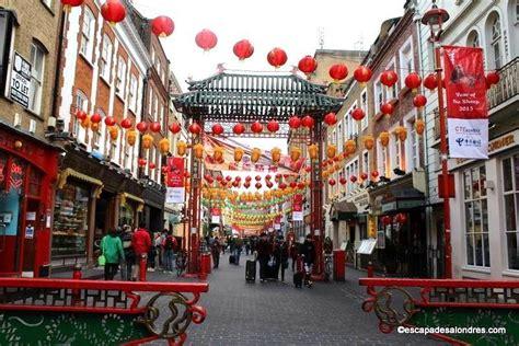 le quartier chinois à promenade dans chinatown à londres