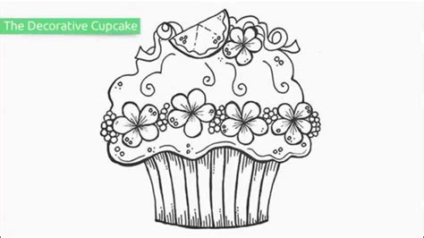 top   printable cupcake coloring pages youtube