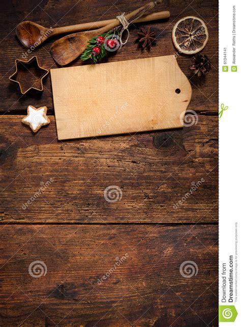 Christmas Menu Card Stock Photo   Image: 61344141