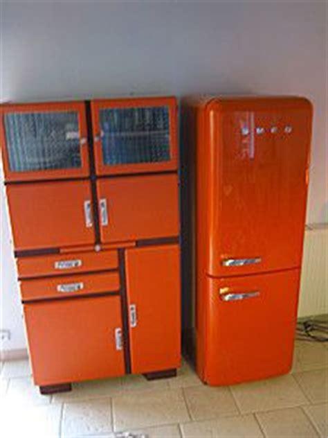 cuisine vintage 馥s 50 meuble de cuisine vintage orange design rétro cuisine vintage cuisine et orange