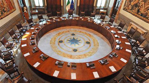 convocazione consiglio dei ministri il consiglio dei ministri ha approvato il decreto