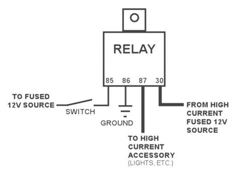 pole relay wiring