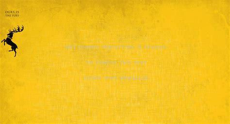 minimalistic yellow textures game  thrones house baratheon