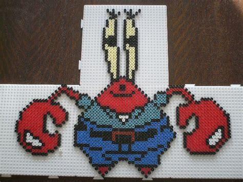 28 Best Perler Beads Sponge Bob Images On Pinterest