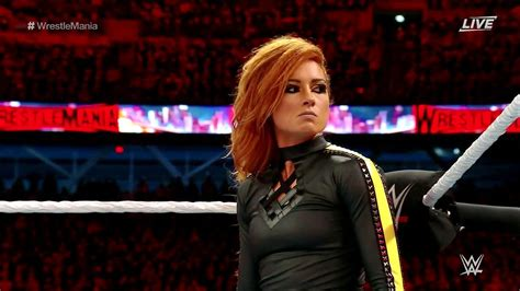 becky lynch debuts  manhandle slam finisher big
