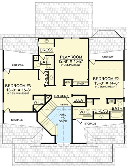 low country floor plans low country with elevator 9152gu architectural designs house plans
