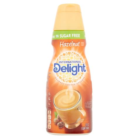 French vanilla and hazelnut creamers. International Delight Sugar Free Hazelnut Coffee Creamer, 1 Quart - Walmart.com