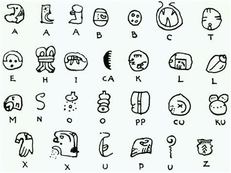 mayan alphabet search spiritual symbols