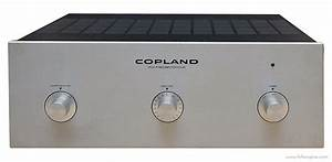 Copland Cta501 - Manual - Valve Power Amplifier