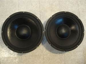New  2  10 U0026quot  Woofers Replacement Guitar Speakers 4 Ohm Ten Inch Bass Pair Pa Dj