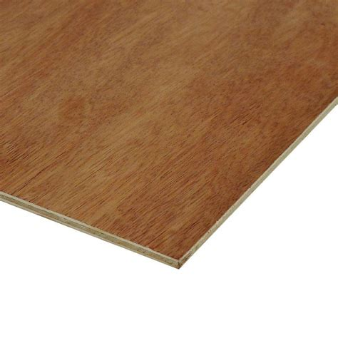home depot flooring plywood utility panel common 1 8 in x 4 ft x 8 ft actual 0 106 in x 48 in x 96 in 833096