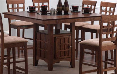 counter height kitchen tables with storage coaster mix and match counter height dining table with 9489