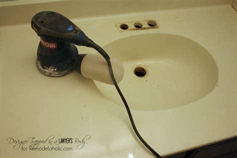 cleaning cultured marble sinks remodelaholic diy concrete vanity with integral sink