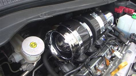 suzuki swift carbon chamber air intake youtube