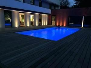 Eclairage Terrasse Piscine : eclairage exterieur piscine terrasse free eclairage terrasse piscine cool spot encastrable led ~ Melissatoandfro.com Idées de Décoration