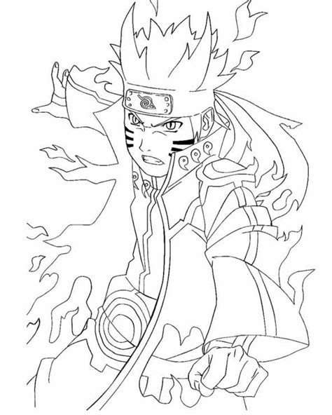 coloring pages  naruto shippuden characters dibujos