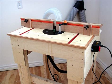 router table plan router table plans build  router